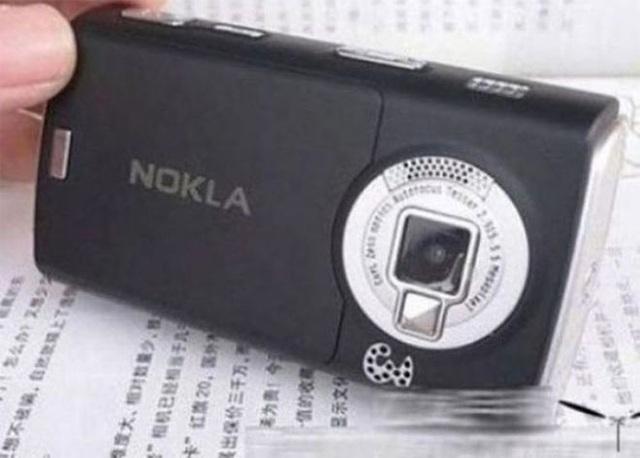 """Khi không thêm chữ vào tên thương hiệu """"nạn nhân"""", các nhà sản xuất hàng nhái Trung Quốc sáng tạo bằng cách sử dụng một chữ cái khác thay thế. Chẳng hạn, Nokia được """"sửa"""" thành Nokla."""