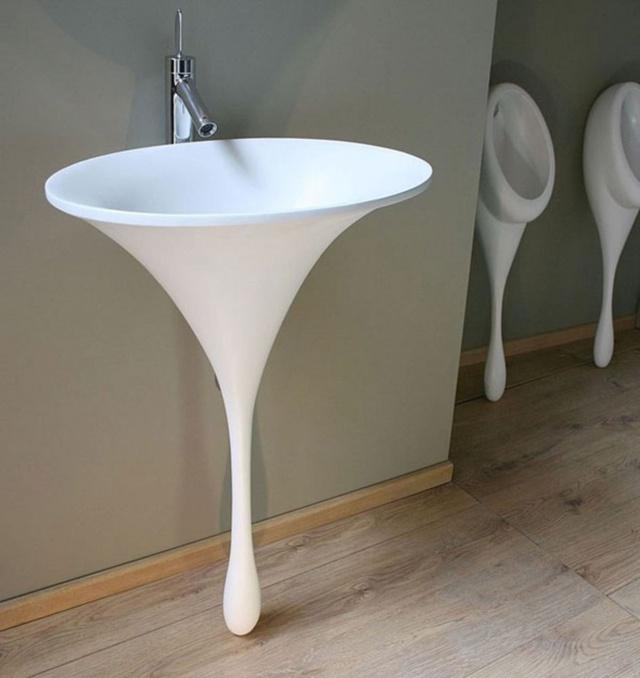Một ý tưởng quá tuyệt vời cho chiếc bồn rửa!