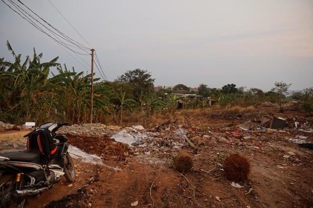 Chậm triển khai dự án, Dự án khu du lịch Suối Xanh bị biến thành các bãi chứa rác