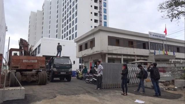 Tòa nhà nơi xảy ra vụ tai nạn