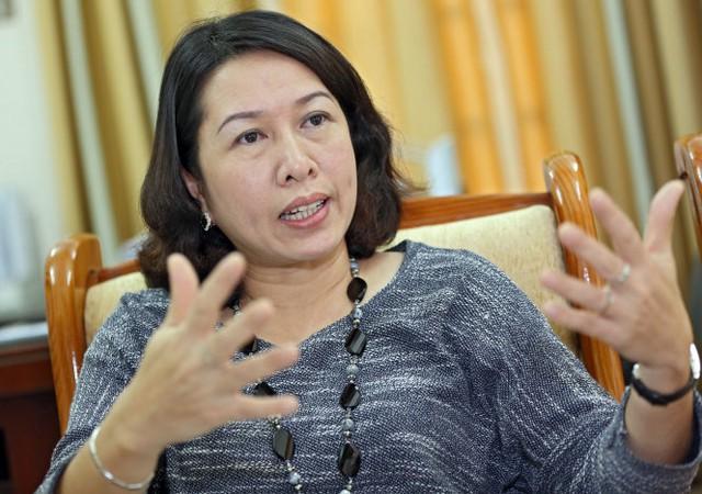 TS Trần Thị Hồng Minh - Ảnh: V.Dũng