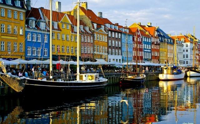 Một góc thủ đô Copenhagen, Đan Mạch - Ảnh: GuoJunjun