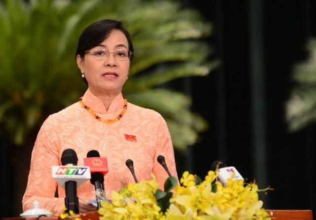 Chủ tịchHĐND Thành phố Hồ Chí MinhNguyễn Thị Quyết Tâm