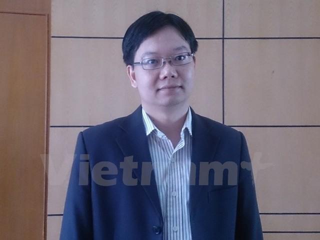 Ông Trần Ngọc Quân, Phó Vụ trưởng Vụ châu Âu, Bộ Công Thương. (Ảnh: Đức Duy/Vietnam+)