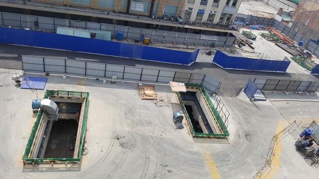 Hạng mục thi công quan trọng nhất của toàn bộ đại dự án này, gói thầu thi công nhà ga ngầm ngay gần chợ Bến Thành, quận 1.