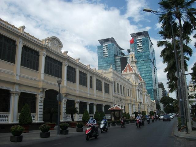 Trụ sở UBND Thành phố hiện nay.
