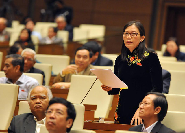 Phó chủ nhiệm UB Tư pháp Lê Thị Nga