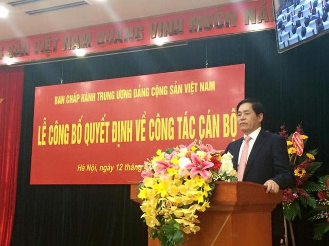 Đồng chí Phạm Viết Thanh được bổ nhiệm giữ chức Bí thư Đảng ủy Khối doanh nghiệp Trung ương.
