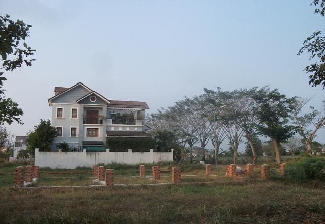 Đây là hình ảnh tại dự án đất nền 13E Phong Phú (huyện Bình Chánh) do QCG làm chủ đầu tư