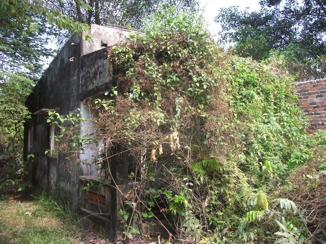Nhiều căn nhà như thế này vẫn đang tồn tại bên trong khu đất xây dựng Dự án khu Đô thị Đại học quốc tế Việt Nam . Người dân đã di dời từ lâu, nhưng đến nay khu đất này vẫn rất lãng phí vì dự án chưa thành hình.