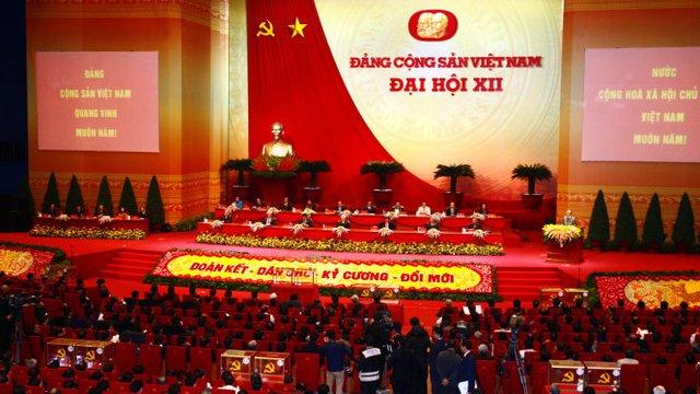 Đại hội Đảng XII bầu 180 ủy viên chính thức BCH Trung ương và 20 ủy viên dự khuyết