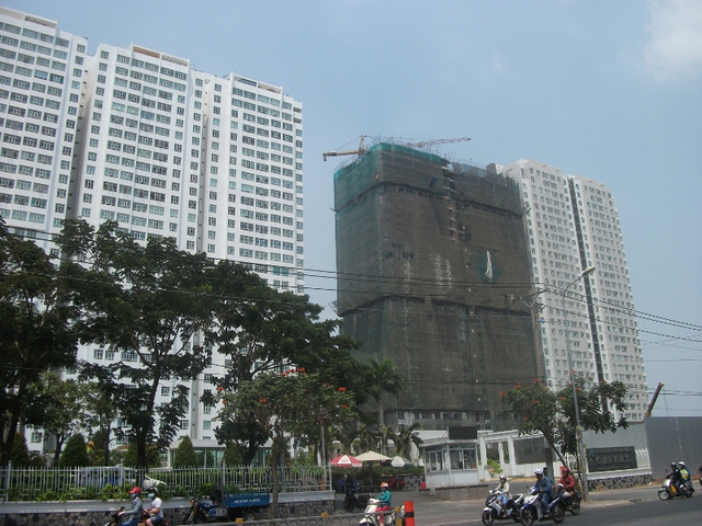 Dự án Khu Căn Hộ Giai Việt Chánh Hưng (quận 8) đang được chủ đầu tư triển khai.