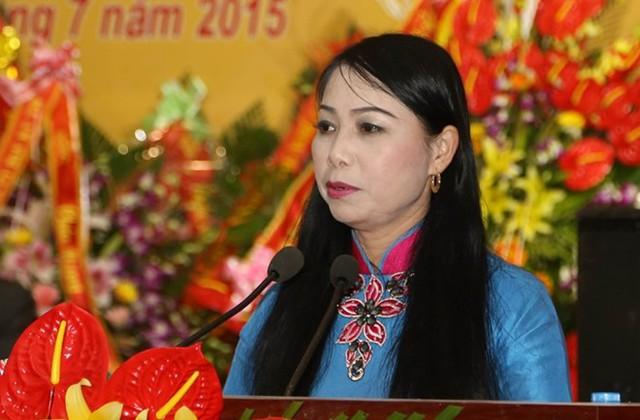 Bí thư Tỉnh ủy,Chủ tịch HĐND tỉnh Vĩnh PhúcHoàng Thị Thúy Lan