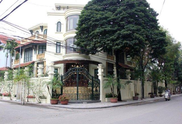 Biệt thự tại khu Quảng An (Tây Hồ - Hà Nội)