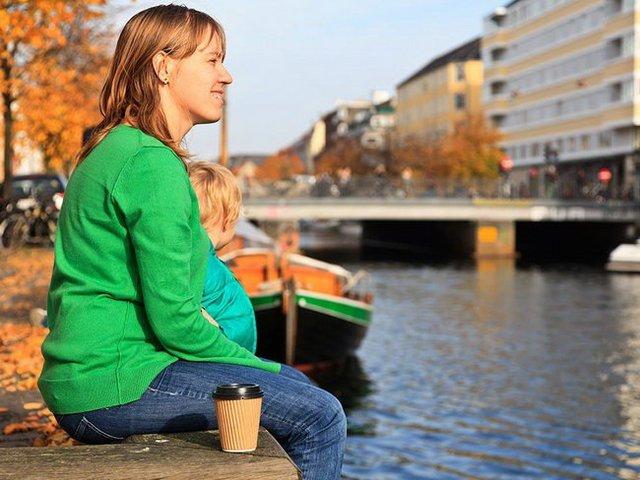 Với hệ thống an sinh xã hội lý tưởng, Đan Mạch được bình chọn là quốc gia hạnh phúc nhất thế giới - Ảnh: AFP: Getty