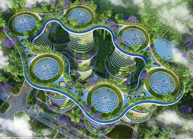 Công trình này có tên gọi là Hyperion, sẽ được xây dựng ở New Delhi, Ấn Độ và dự kiến hoàn thành trong năm 2020.