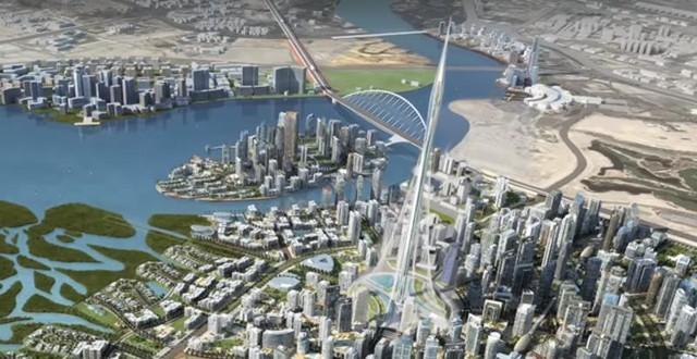 Ông Alabbar miêu tả, tòa tháp mới sẽ giống như một tượng đài thanh lịch, làm tăng thêm giá trị cho tòa nhà do công ty phát triển dọc theo nhánh sông của thành phố.