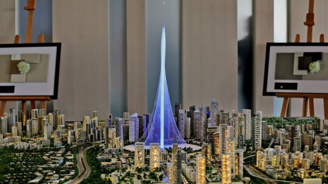 Tòa tháp sẽ có tầng quan sát, 18-20 tầng dành cho nhà hàng và khách sạn.