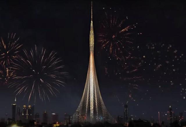 Cũng theo vị Chủ tịch này, công trình này sẽ là món quà cho thành phố trước năm 2020, năm Dubai đăng cai tổ chức Hội chợ Quốc tế. Việc xây dựng sẽ bắt đầu vào cuối tháng 6 năm nay.