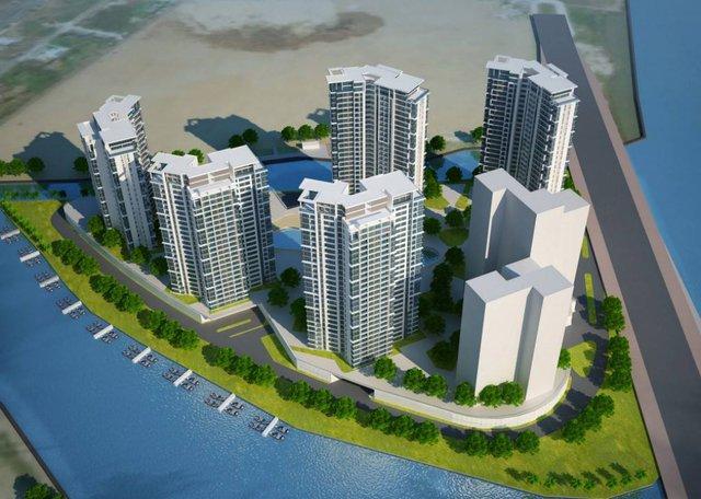 Dự án Đảo Kim Cương giai đoạn 2 vừa được khởi công