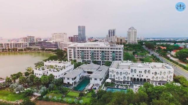 Cụm 3 khối công trình khủng tại Phú Mỹ Hưng, quận 7 của ông Hoàng Khải - Chủ tịch HĐQT của Khaisilk