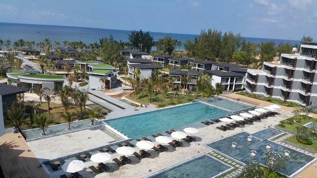 Khu nghỉ dưỡng Novotel Phu Quoc Resort của CEO Group trước ngày khai trương 18/1/2016
