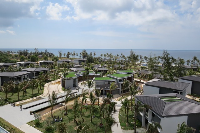 Biệt thự bungalow hướng biển