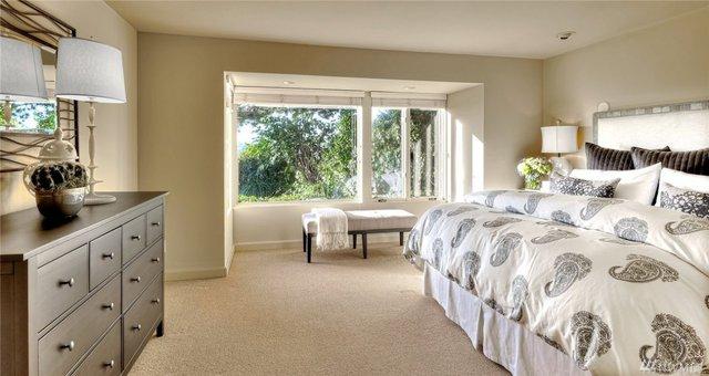 Một phòng ngủ dành cho khách.