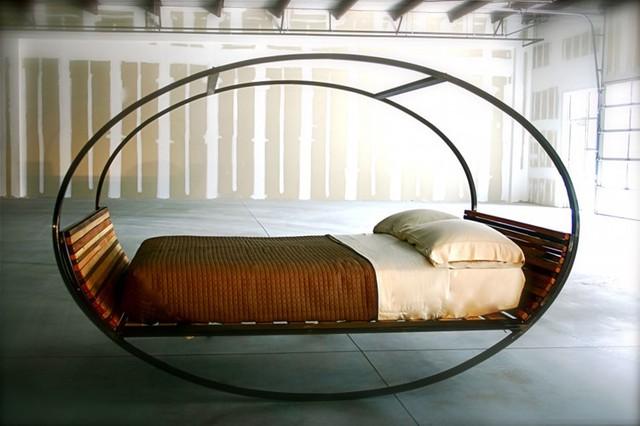 Giường bập bênh- mang đến giấc ngủ thư giãn nhất.