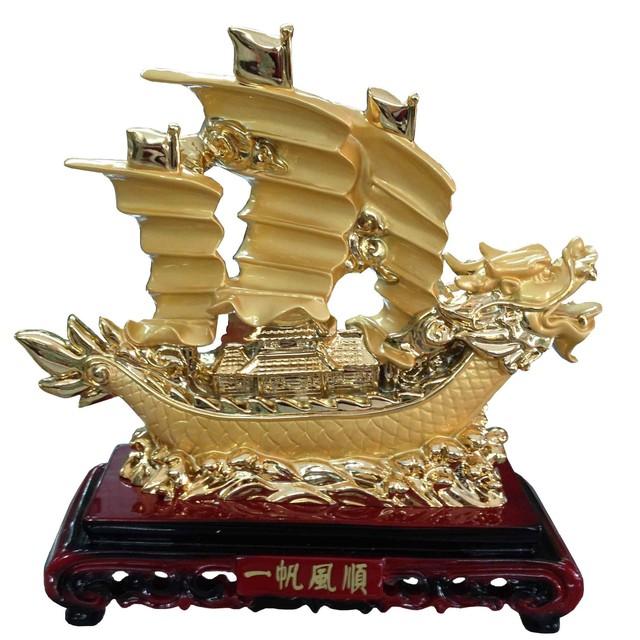 Biểu tượng Thuyền buồm mang nhiều thuận lợi, may mắn