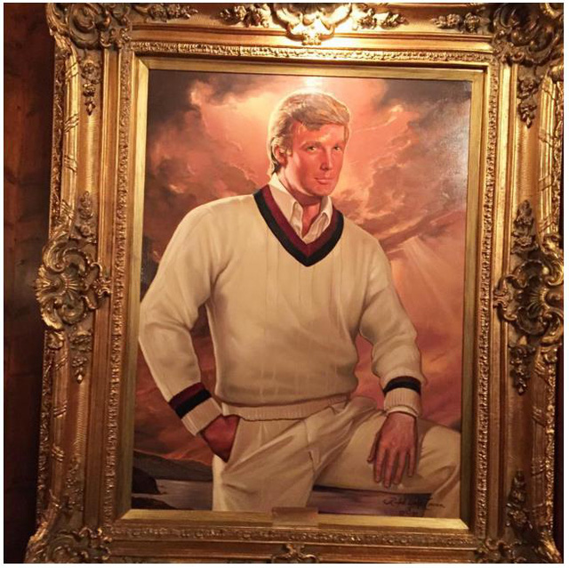 Đây là chân dung của Donald Trump