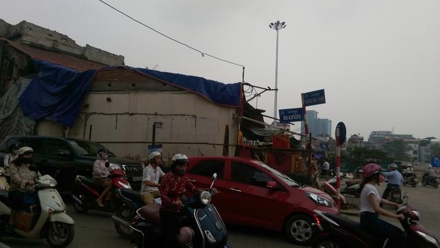 Ở đây thường xảy ra tình trạng ách tắc giao thông