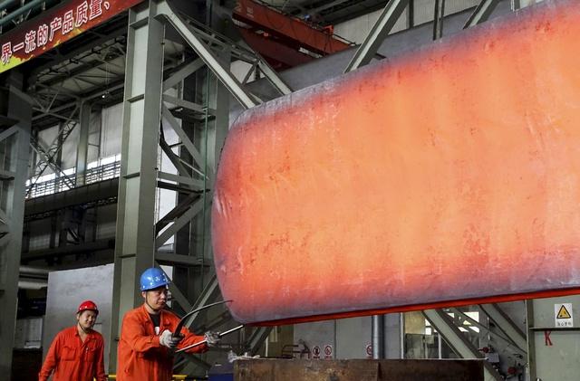 Một nhà máy của tập đoàn Dongbei Special Steel Group Co., Ltd. Tại Liêu Ninh, Trung Quốc. Ảnh: Reuters.