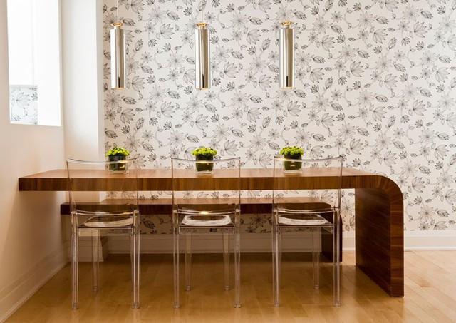 Với những ngôi nhà khiêm tốn diện tích, nội thất trong là lựa chọn lý tưởng.