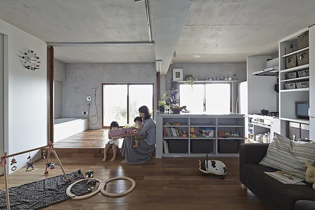 Với cách mở hoàn toàn các phòng, trẻ có nhiều không gian vui chơi hơn trước đây.