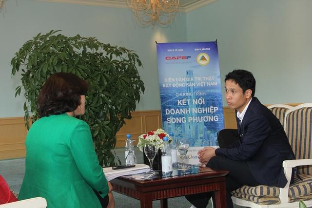 Chương trình kết nối doanh nghiệp song phương diễn ra tại Diễn đàn giá trị thực BĐS Việt Nam