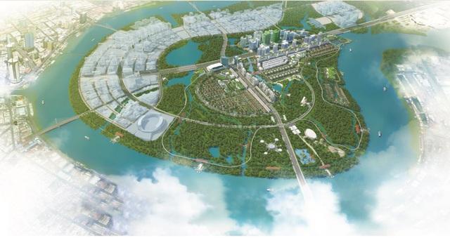 Phối cảnh dự án Khu đô thị Sala