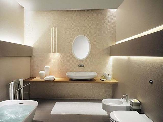 Vị trí lý tưởng nhất cho nhà tắm đó là nên đặt ở Tây Bắc hoặc Đông ngôi nhà
