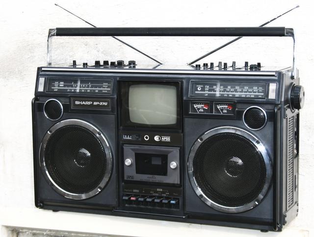 Một trong những mẫu radio của Sharp