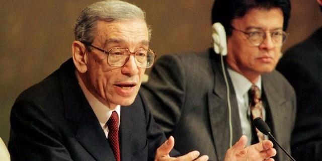 Ông Boutros Boutros-Ghali- Tổng thư ký Liên Hiệp Quốc thời kỳ 1992-1996