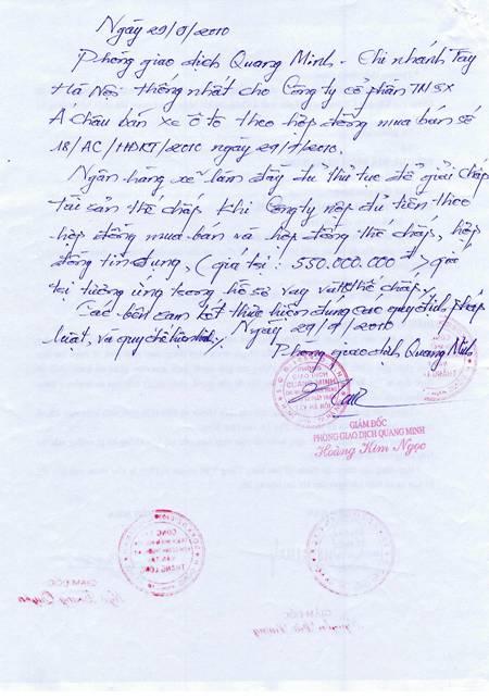 PGĐ BIDV Tây Hà Nội lên tiếng về vụ bị khách tố chiếm 800 triệu đồng (3)