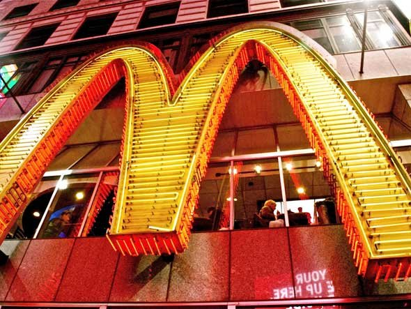 McDonald's' $27 billion in revenue makes it the 90th-largest economy in the world