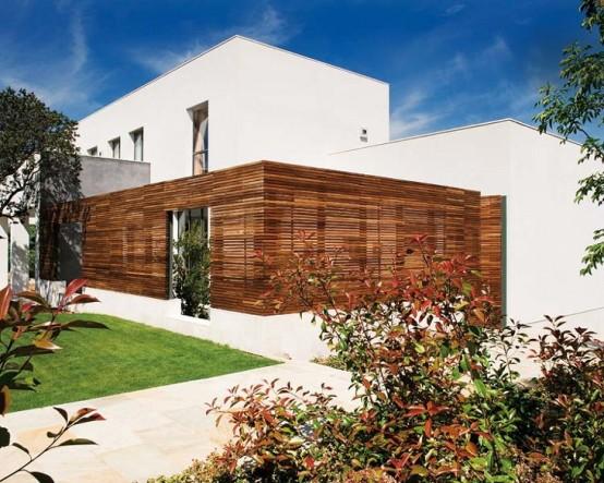 Đẹp ngẩn ngơ với ngôi nhà màu sắc phong cách Pháp (2)