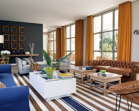Đẹp ngẩn ngơ với ngôi nhà màu sắc phong cách Pháp (5)