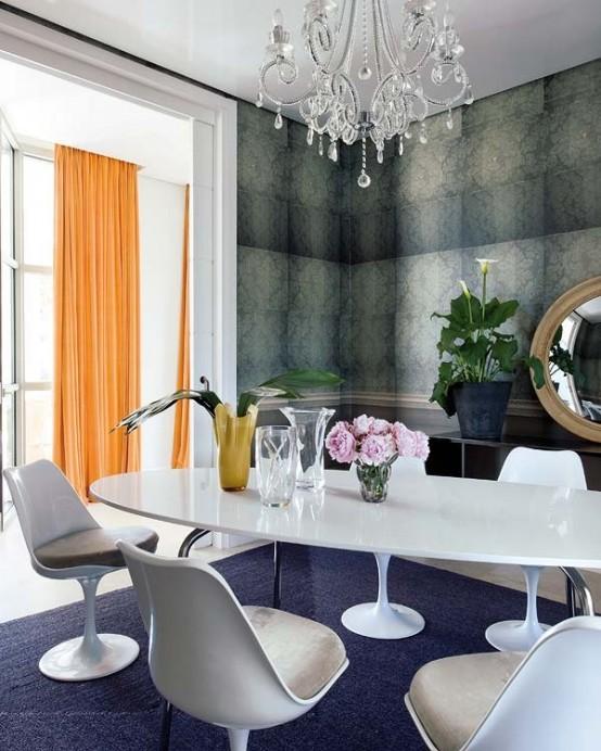 Đẹp ngẩn ngơ với ngôi nhà màu sắc phong cách Pháp (7)