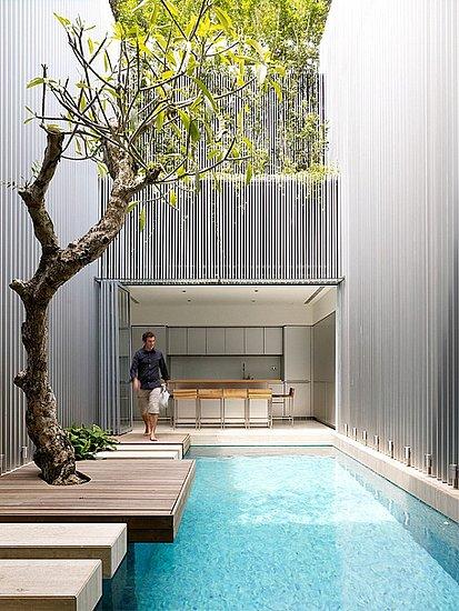 Đẹp lung linh với bể bơi (2)