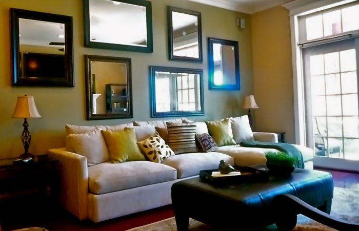 Phòng khách quyến rũ cho nhà thêm xinh (3)