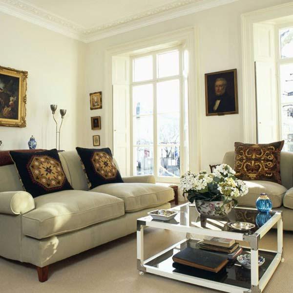Phòng khách quyến rũ cho nhà thêm xinh (5)