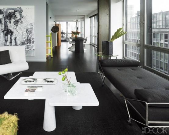 Phòng khách quyến rũ cho nhà thêm xinh (6)