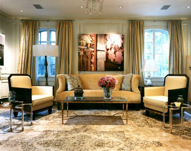 Phòng khách quyến rũ cho nhà thêm xinh (1)